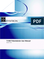 UserManual HystrionTriboIndenter Sm
