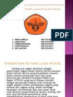 Pengaruh Hutang Luar Negeri Terhadap Pertumbuhan Ekonomi Indonesia