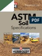 Humboldt Soil ASTM Specs