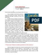 Zarafa Fiche Enseignant