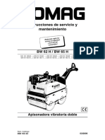 BOMAG BW 65H Manual Instrucciones