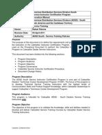 ADSDS Deale Instructor Certification