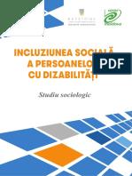 Studiu Incluziunea Sociala a Persoanelor Cu Dizabilitati 2017