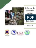 Informe de Calidad de Aguas Superficiales 2014