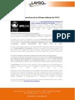Tranter, Present Lors de La 50eme Edition de OTC