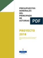 Proyecto Presupuesto Asturias 2018