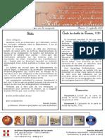 Carte du Duché de Savoie