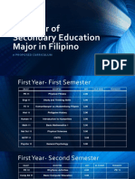 Filipino Majors