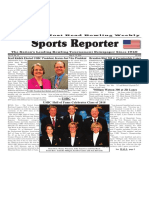 May 9 - 15, 2018  Sports Reporter