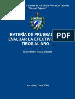 Bateria de Pruebas Para Evaluar - Ruiz Canizares, Jorge Michel