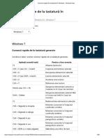 Comenzi rapide de la tastatură în Windows - Windows Help.pdf