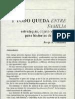 Y todo queda entre familia, Jorge A González, pp. 125-154