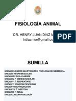 Fisiologia Animal 2018