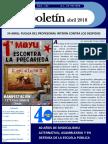 Boletín 182 imprenta