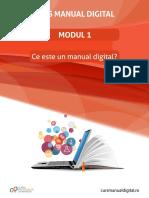 Curs manuale digitale (3 cursuri)