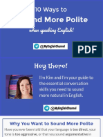 10 Ways to Sound More Polite When Speaking English