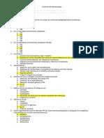 Examen Farmaco Antagonistas Colinergicos