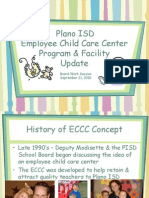 Plano ISD day-care center in east Plano for teachers