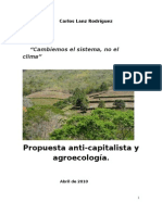 Propuesta Anti-capitalista y Agroecologia