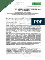 107343 ID Pengaruh Pemberian Analgesik Kombinasi p