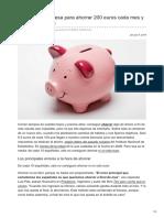 La técnica japonesa para ahorrar 200 euros cada mes y no quitarse de nada [El País].pdf