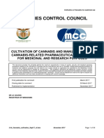 Medical Cannabis South Africa Cultivation Licence