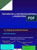 Historia Enteral y Parenteral