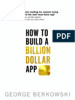 How to Build a Billion Dollar a - George Berkowski