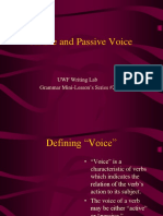 Active and Passive Voice 01-1