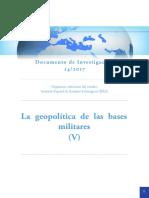 DIEEEINV14 2017 Geopolitica BasesMilitares v RguezChirino GuillemColom