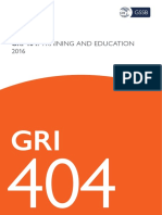 Gri 404 Training and Education 2016