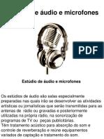 Estudios e Microfones