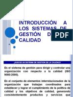 Introducción a los Sistemas de Gestión de la calidad