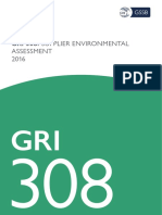 Gri 308 Supplier Environmental Assessment 2016