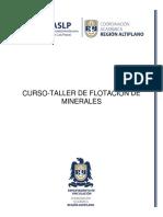 Informacion de Curso Flotacion de Minerales