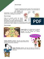 Diferencia Entre Tipos y Niveles de Lengua