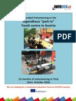 Volunteer Call Parkin2018 (1)