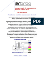 Manual Para Programação de Processadores Motorola Família HC(1)