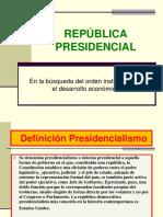 Republica Presidencial 1925 -1938