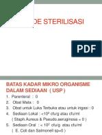 Pert. 4 Metode Sterilisasi