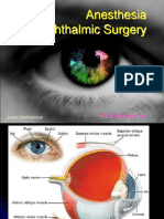 Anesthesia for Ophthalmic Surgery Dwi