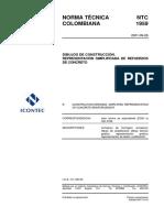 NTC 1959 Dibujos de Construcción. Representación Simplificada de Refuerzos de Concreto.pdf