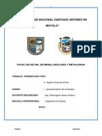 ANALISIS GRAVIMETRICO DEL MINERAL.docx
