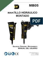 Martillo Hidraulico STANLEY MB05