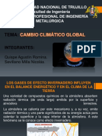 Cambio 20 Climatic o 20 Global