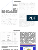 Hidrogeologia Petroleros _ Unidad I