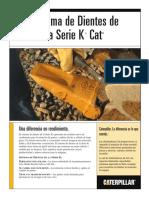 Brochure - Sistema de Dientes Serie k de Cat