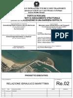 Porto Di Pescara Relazione Idraulico Marittima