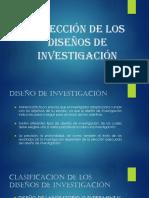 FASE VI - SELECCIÓN DE LOS DISEÑOS DE INVESTIGACIÓN.pptx
