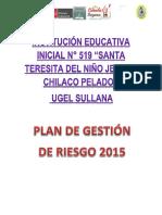 Plan de Grd Chilaco 2015